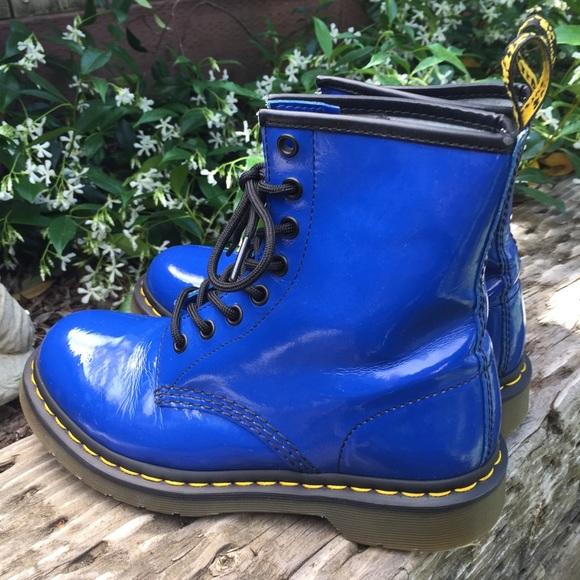Dr Martens 11821 Patent Royal Blue